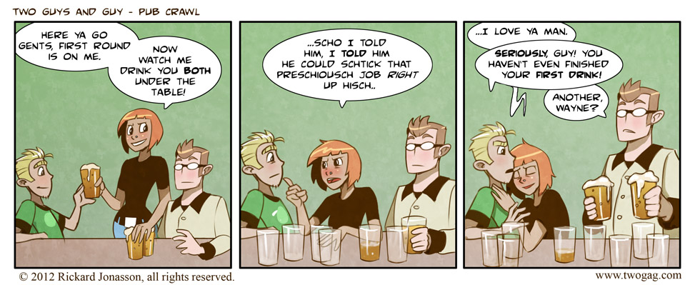 Pub Crawl (Guest Strip)