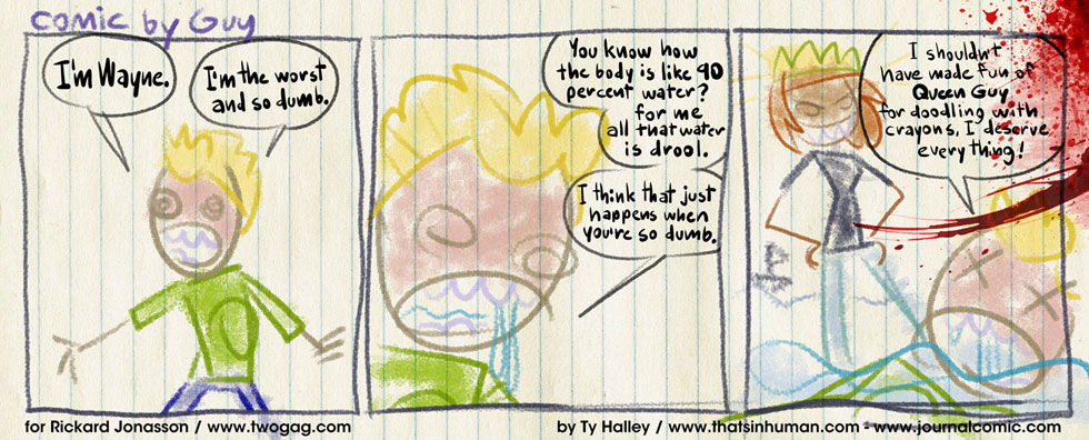 Guest Strip – Ty Halley – Again